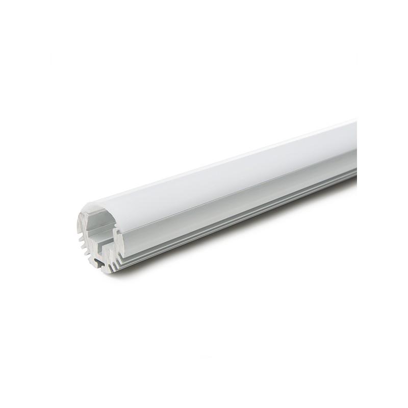 Perf l de aluminio para tiras de leds barra armario - Tiras de led ikea ...