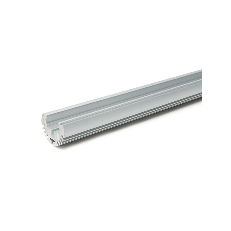Perf l de aluminio para tiras de leds barra armario - Tiras de aluminio ...