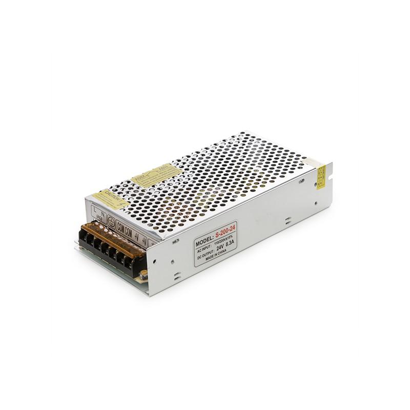 Transformador para leds 200w 24vdc 6 5a ip25 ledecora for Transformador para led