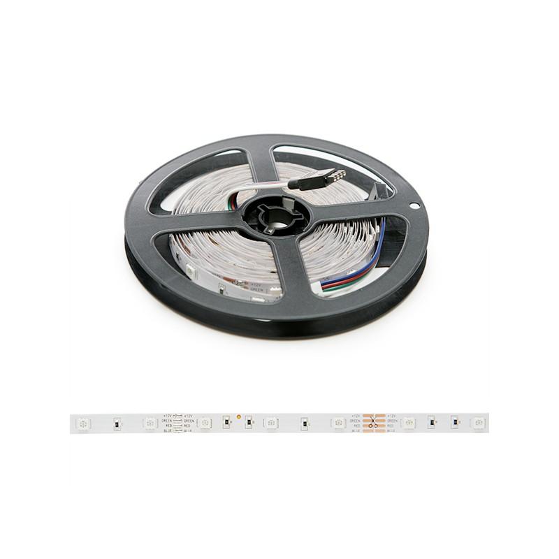 Tira de 150 leds smd 5050 5m rgb ip33 interior ledecora - Tiras de led rgb ...