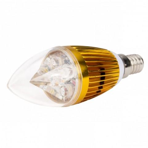 Lámpara Bombilla de LEDs Vela E14 5W 400Lm 30.000H