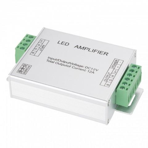 Amplificador RGB 12VDC Interior IP25 Max. 144W