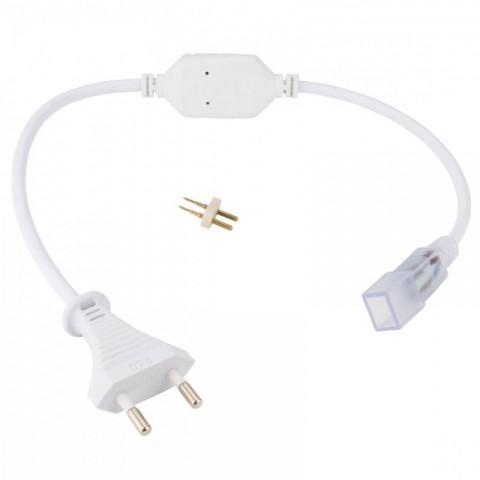 Enchufe Conector IP65 para Tira de LEDs 220VAC SMD3528