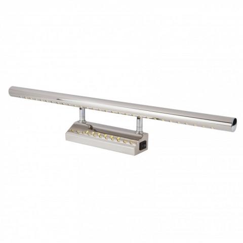 Aplique de leds para espejo 55cm 7w ledecora - Apliques para cuadros ...