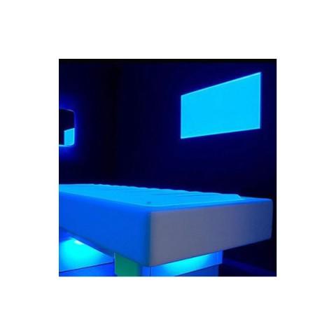 Placa LEDs Rectangular RGB 295x295mm 16W 24VDC Driver/Controlador Centralizado