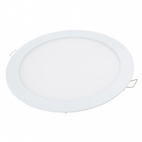 Placa LEDs Circular RGB 240mm 10W 24VDC Driver/Controlador Centralizado