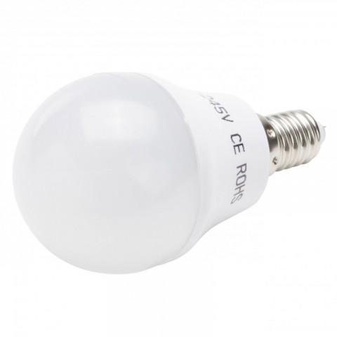 Lámpara de LEDs Esférica E14 3W 180Lm 30.000H