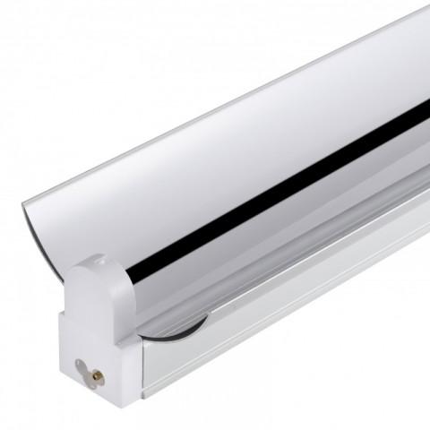 Regleta de Aluminio con Reflector para un Tubo de LEDs T8 600mm