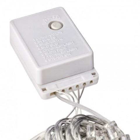 Guirnalda de 100 LEDs IP44 220V 10 Metros Blanco Cálido