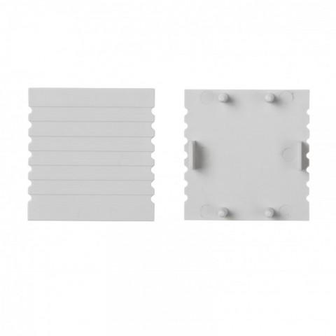 Tapón Final para Perfíl de Aluminio SU-M001A