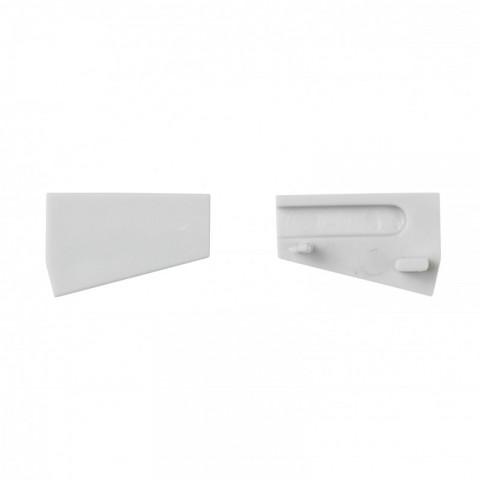 Tapón Final para Perfíl de Aluminio SU-G002 Izquierda