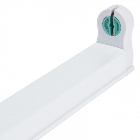 Regleta de Aluminio ECO para un Tubo de LEDs T8 1200mm