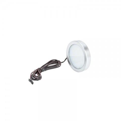 Mini Plafón de LEDs de Superfice para Muebles 2,7W 240Lm 30.000H