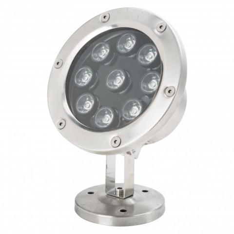 Foco de LEDs Sumergible IP67 9W 810Lm 30.000H